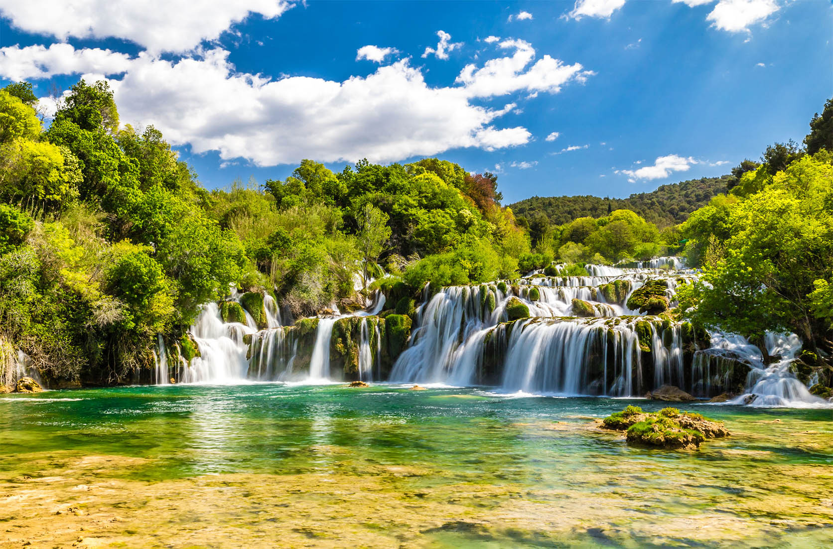 Tour from split Krka waterfalls