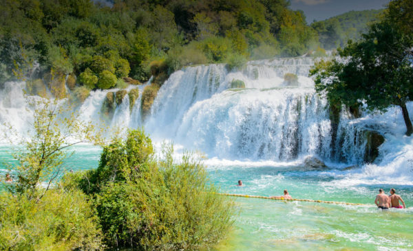 Krka waterfalls from Split