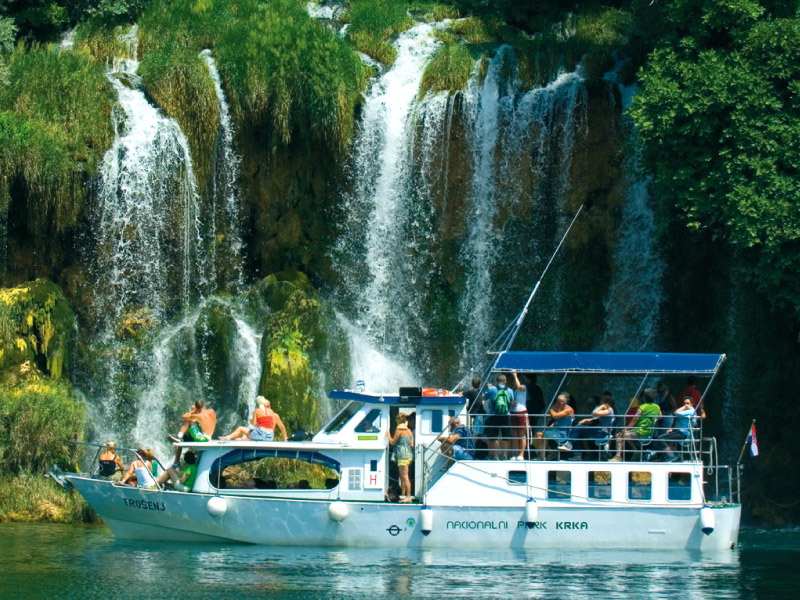 Krka Waterfalls From Split News Krka Waterfalls Tour