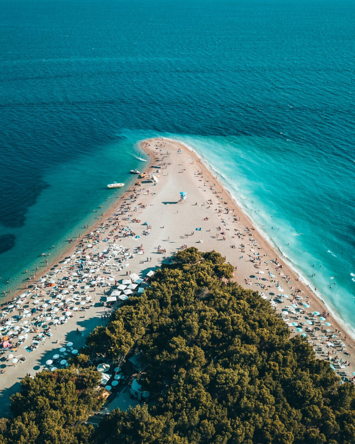 Bol Brač island Tour Golden Horn Beach
