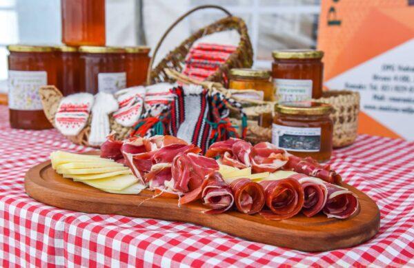 Prosciutto and wine dalmatia